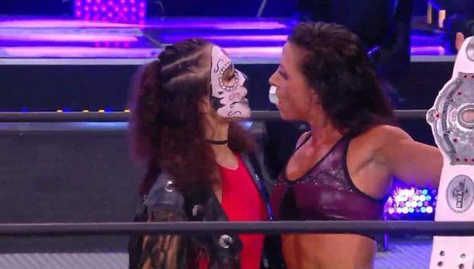 Thunder Rosa returned to spoil Serena Deebs celebrations