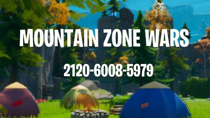 Mountain zone wars map