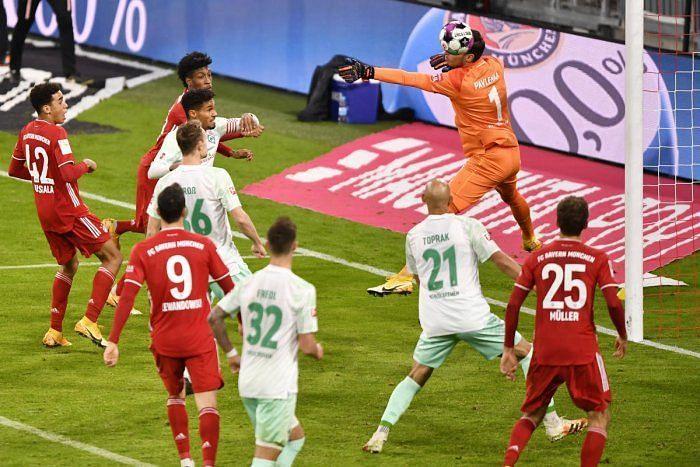 Werder Bremen frustrated Bayern Munich with their obdurate defending.