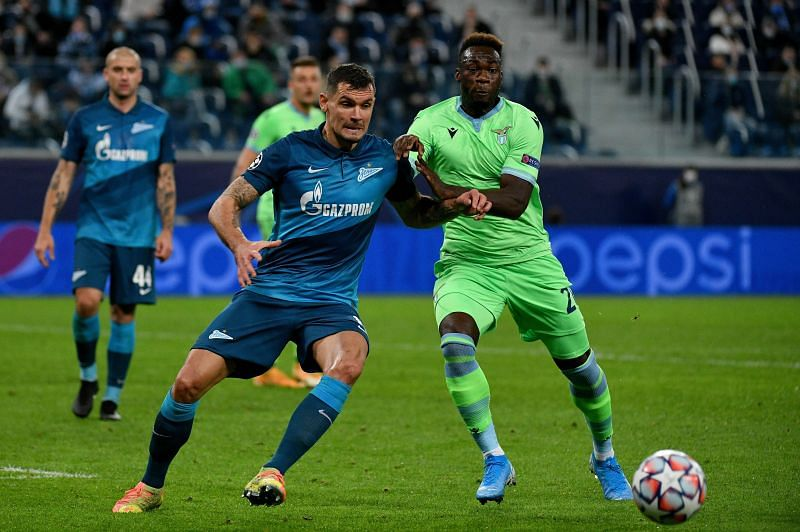 Zenit St. Petersburg take on Lazio in UEFA Champions League action this week