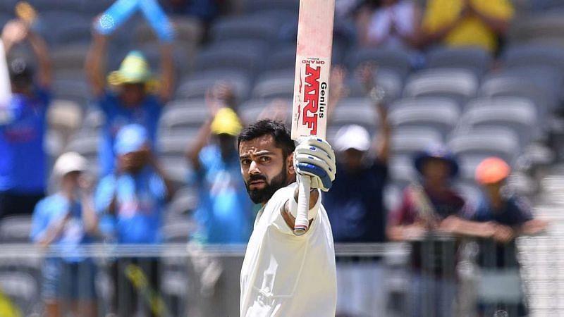 Virat Kohli scored 123 in Perth on India