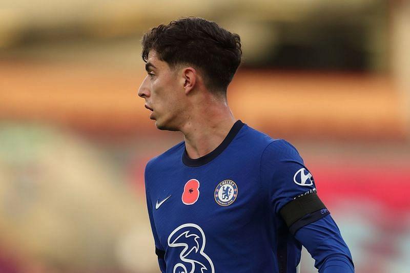 Chelsea midfielder Kai Havertz tested positive for coronavirus