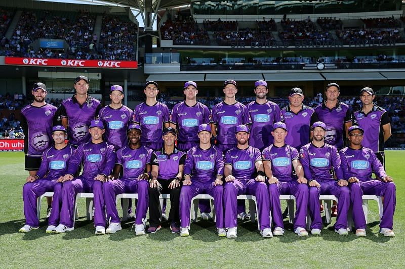 Hobart Hurricanes finished runners-up twice in 2013 and 2017