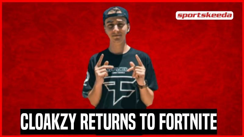 Cloakzy will be playing Fortnite with NICKMERCS this week