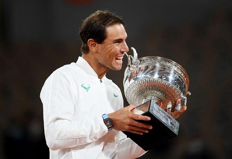 2020 French Open winner Rafael Nadal
