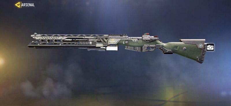 Kilo Bolt-Action – Rail Gun