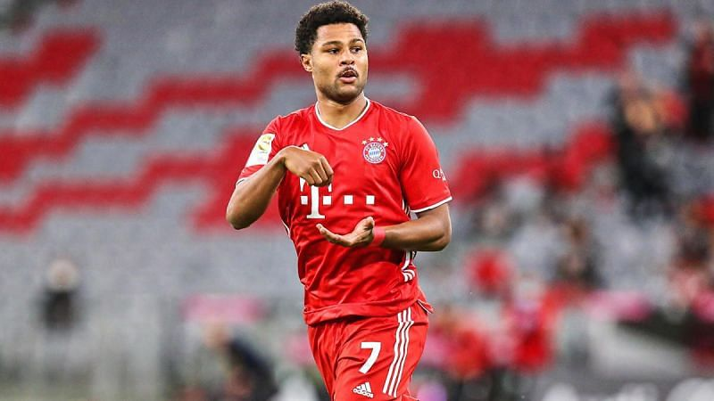 Serge Gnabry was one of the standout performers for Bayern Munich last season.
