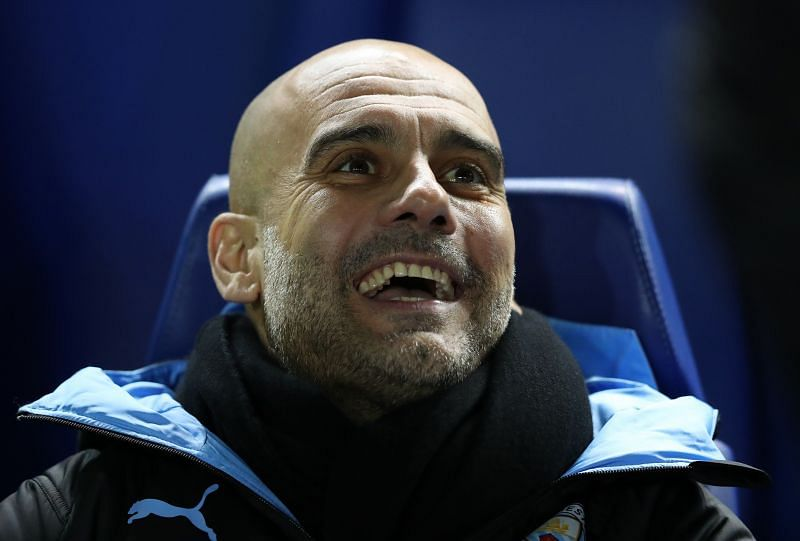 Pep Guardiola, Manager of Manchester City