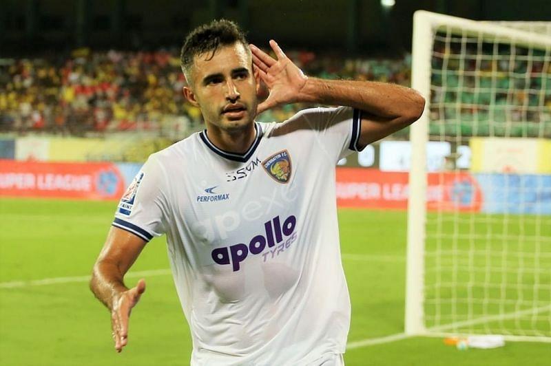Rafael Crivellaro will be captaining Chennaiyin FC in the 2020-21 season of ISL