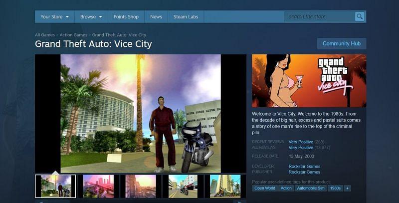 GTA Vice City on Steam