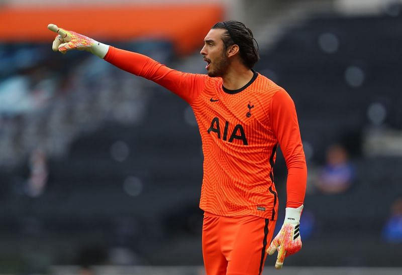 Paulo Gazzaniga has slipped down the pecking order at Tottenham Hotspur this season.