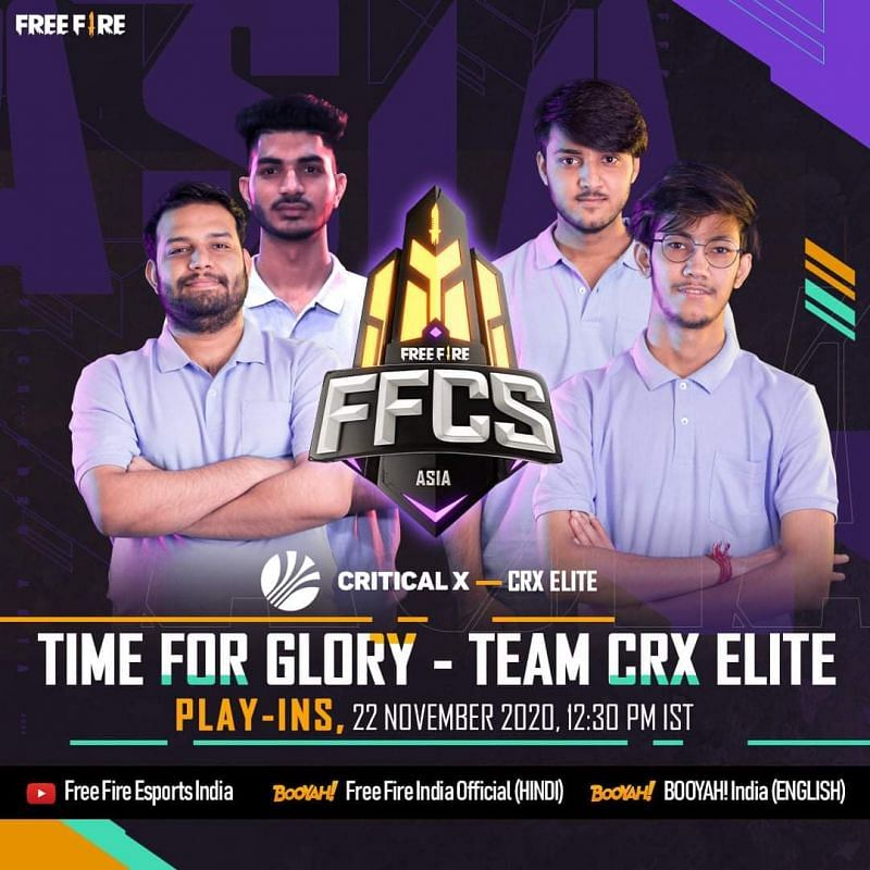 Critical X Elite will be part of the FFCS 2020 Asia
