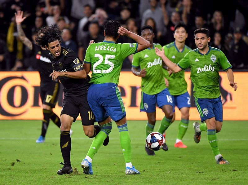 Seattle Sounders host Los Angeles FC in a rematch of last year