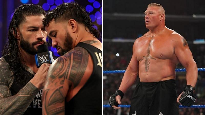 Brock Lesnar showed off a new look this week