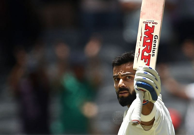 Virat Kohli will be available only for the first of four Test matches Australia v India - First Test: Day 1