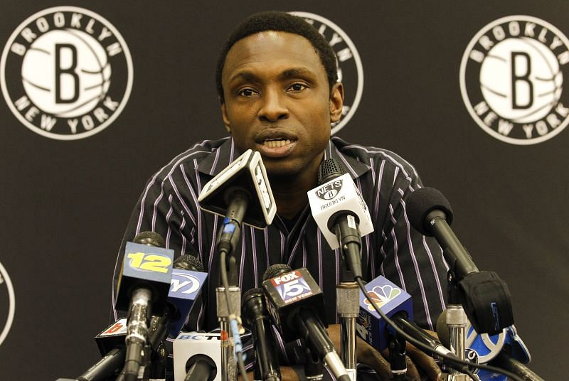 Brooklyn Nets Press Conference Announcing Firing Of Head Coach Avery Johnson