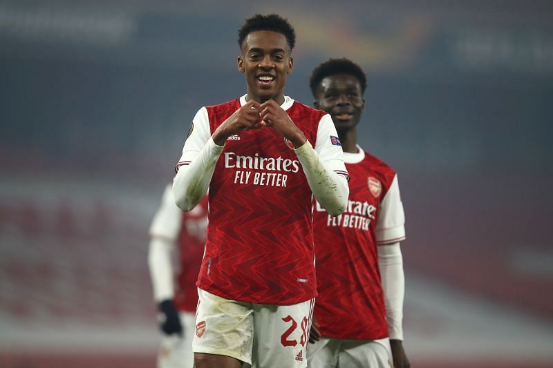 Joe Willock was one of the key creative figures during Arsenal