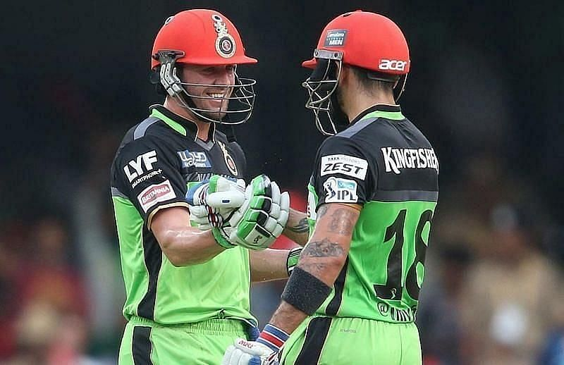 Virat Kohli and AB de Villiers have been the lynchpins of the RCB batting order over the years