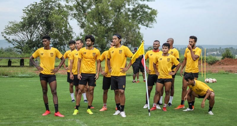 Hyderabad FC will aim to get off to a winning start (Image - Hyderabad FC Twitter)