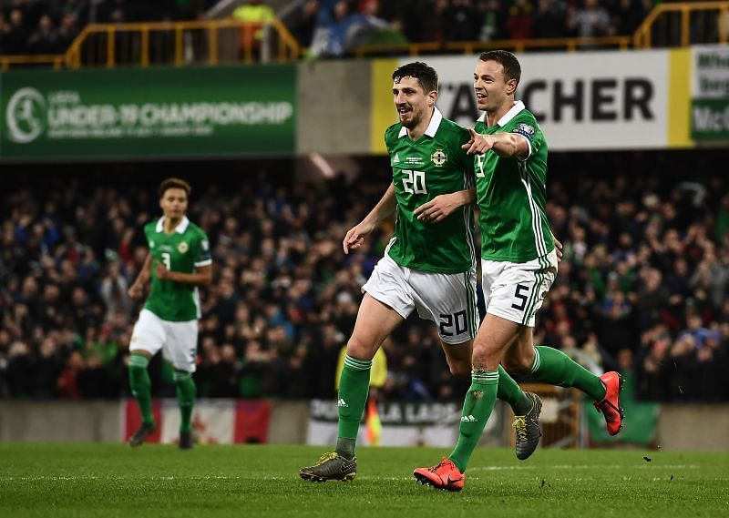 Northern Ireland might not be able to field Jonny Evans