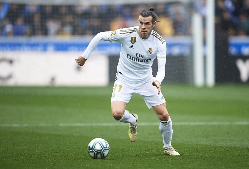 Gareth Bale during his time at Real Madrid