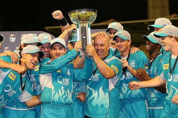 Brisbane Heat were the winners of the second BBL edition in 2012