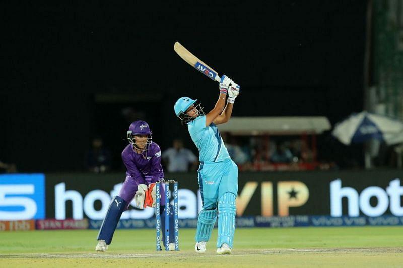 Harmanpreet Kaur in the finals of last season. Image credit - IPL
