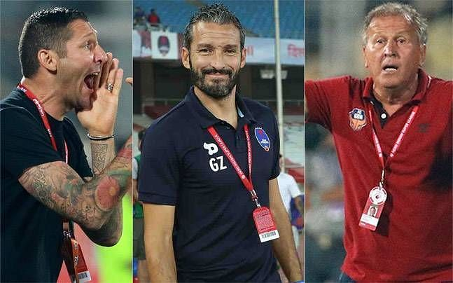 ISL Managers over the years