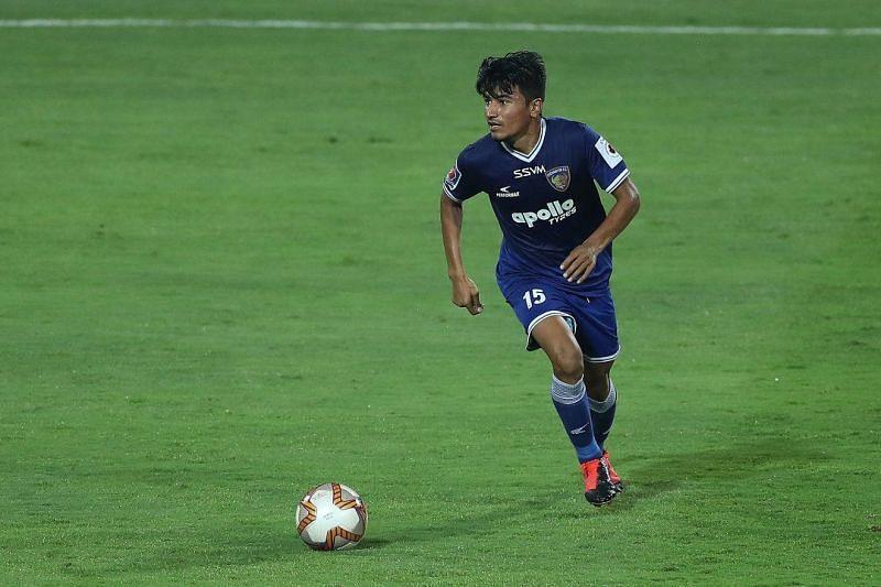 Anirudh Thapa of Chennaiyin FC