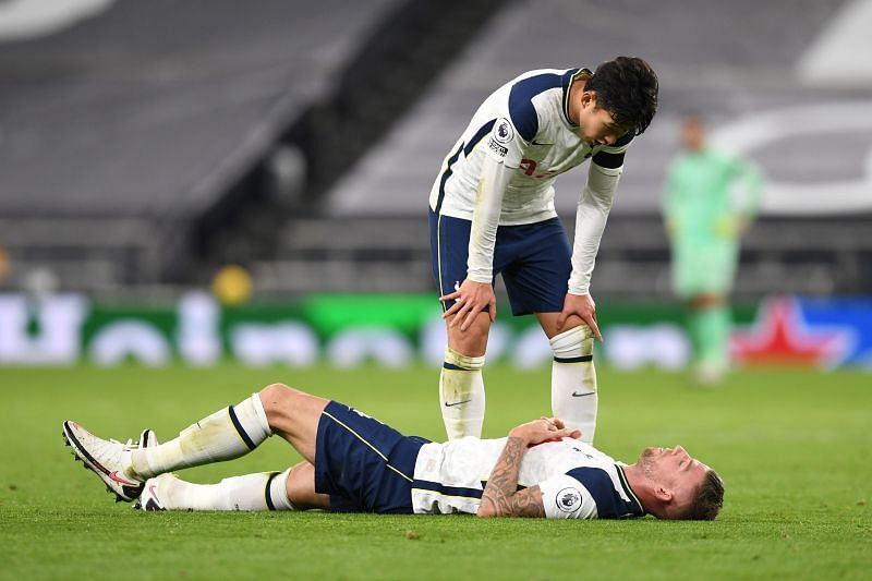 Tottenham Hotspur star Toby Alderweireld suffered a groin injury against Manchester City on Saturday.