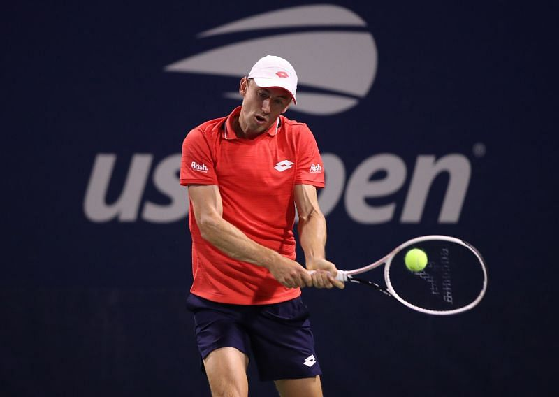 John Millman at the US Open earlier this year.
