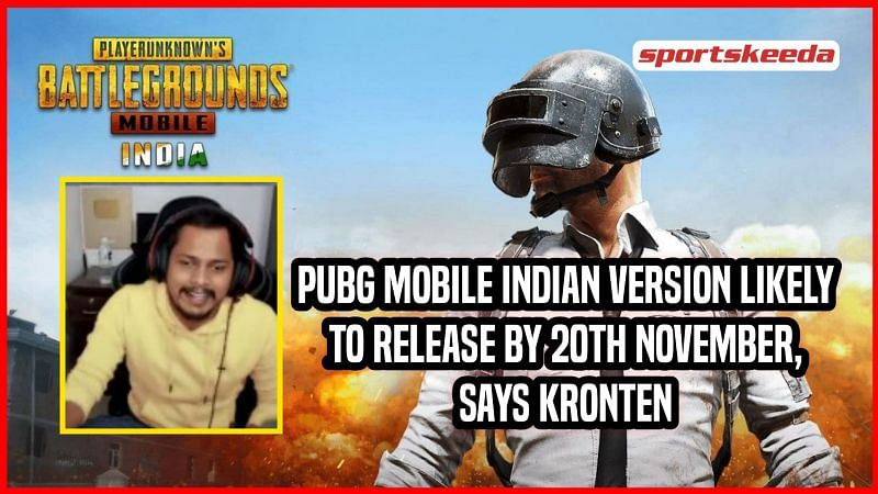 PUBG Mobile Indian version likely to release by 20th November