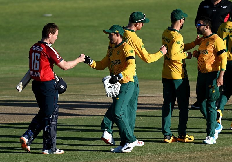 England sealed a 2-0 series victory after winning the toss and sending South Africa in to bat first
