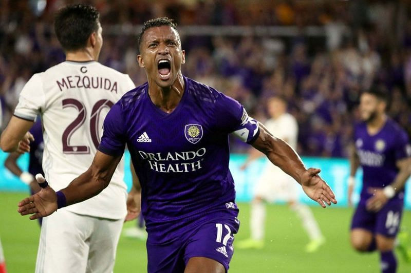 Former Manchester United winger Nani will miss the last game of the regular season after he picked up a red card in Orlando City