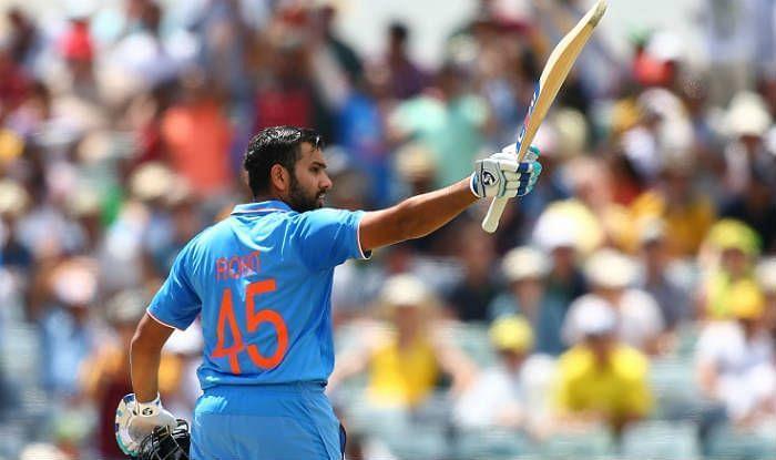 रोहित शर्मा ने इस मैच में शानदार शतक लगाया था