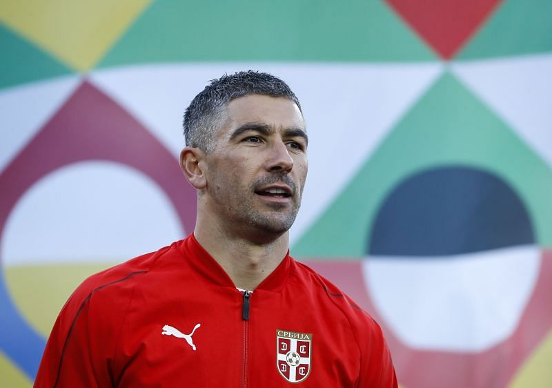 Serbia might have to do without their captain