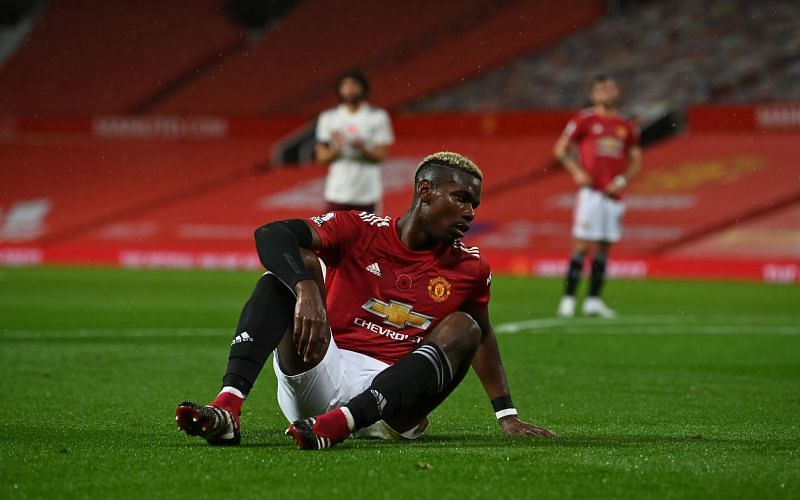 Paul Pogba has less than two years left on his contract