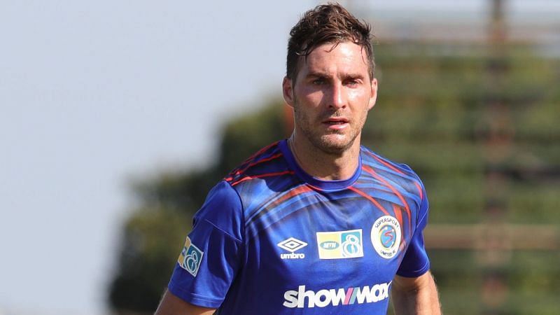Bradley Grobler will not feature in this game. Image Source: Goal