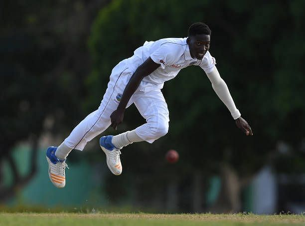 Chemar Holder could make his debut in this series. (Image Credits: West Indies Cricket)