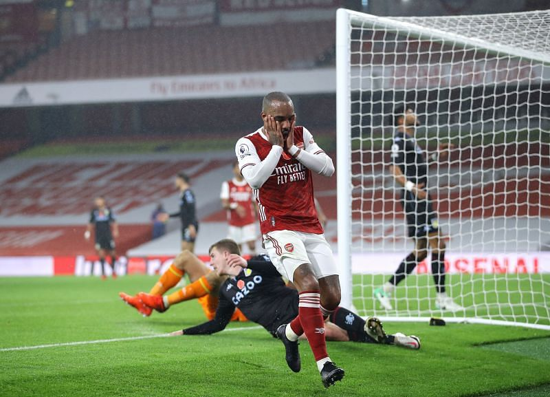 Arsenal struggled to create chances in tonight