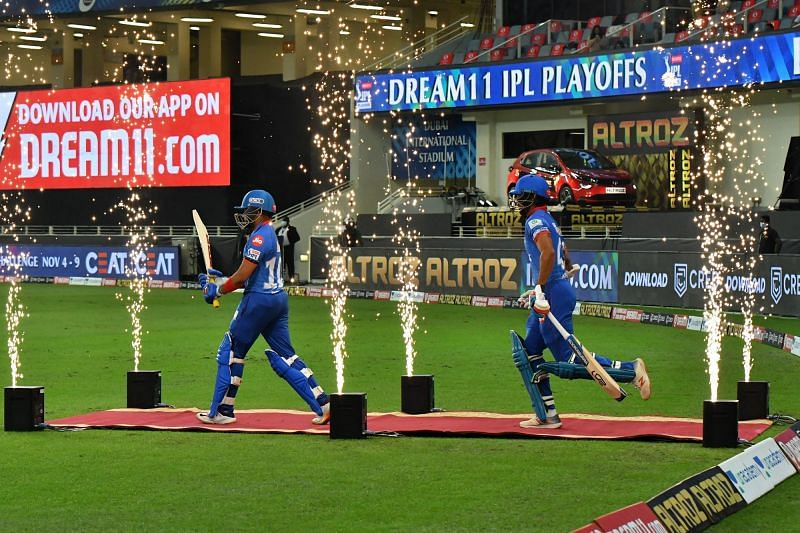 DC entered the field to fireworks, but fizzled out in the middle. [PC: iplt20.com]
