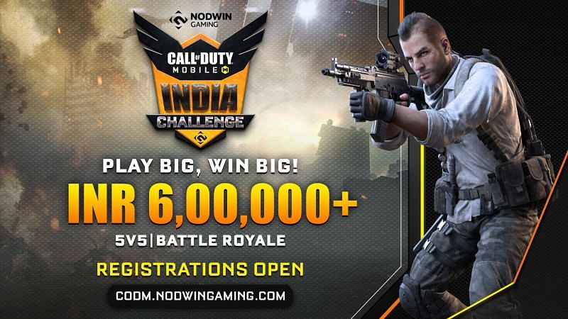 The Call of Duty Mobile India Challenge 2020 is now open