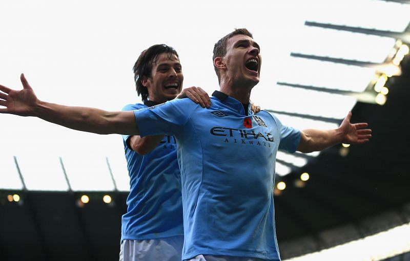 Edin Dzeko is a prolific goalscorer for club and country.