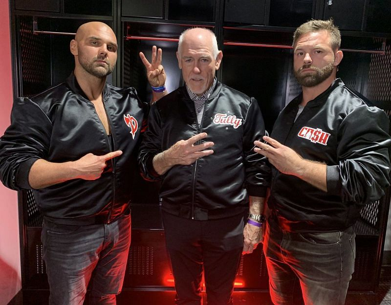 FTR has been working together with the legendary tag team wrestler, Tully Blanchard on AEW Dynamite