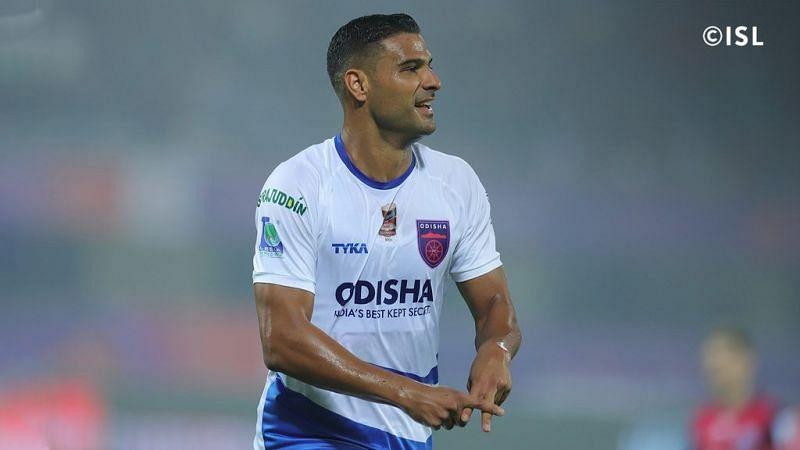 Aridane Santana is set to represent Hyderabad FC in the 2020-21 ISL (Credits: ISL)