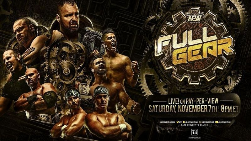 AEW Full Gear 2020 has built the most stacked lineup from the promotion in 2020.