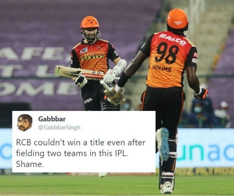 SRH beat RCB by 6 wickets to reach the IPL 2020 Qualifier 2