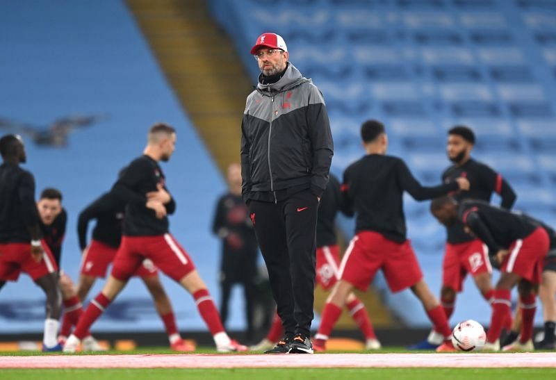 Liverpool have several injury concerns
