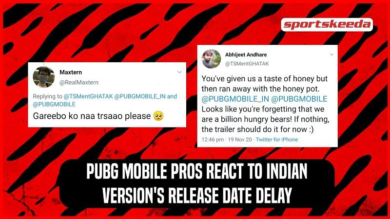 Reactions of PUBG Mobile pros to Indian version