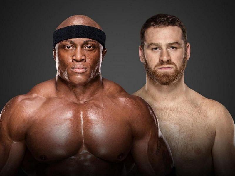 Bobby Lashley will face Sami Zayn at Survivor Series